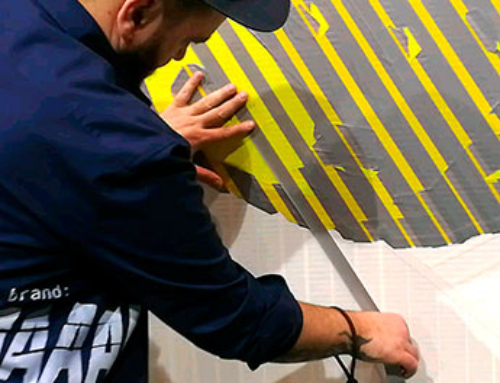 Live Tape Art Show auf der Mode-Messe