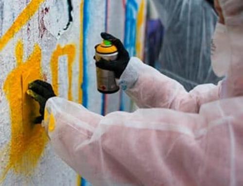 Graffiti workshop with Berlin street-artist