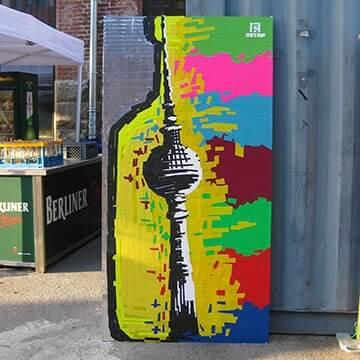 Tape-Art-Projekt-Absolut-Vodka-Colours-Festival-Ostap-2015-Vorschaubild
