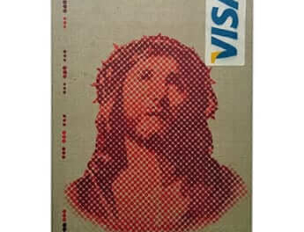 """Icon 2.0""-  Jesus VISA Canvas"