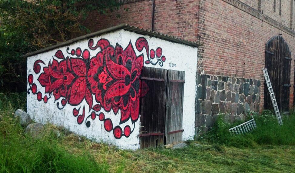 Khokhloma- Graffiti Sprüh-Art von Ostap