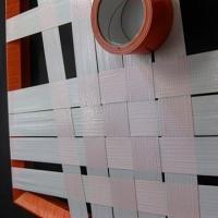 Orange Struktur-Abstraktes Gewebtes Tape-Kunst-Ostap 2012-Vorschaubild