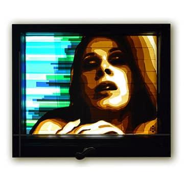 Zwei-Frauenportraits-Ostaps-erstes-Packband-Kunstwerk-Jahr-2013-Vorschaubild