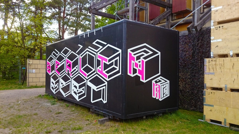 GZSZ-tape-art-graffiti-commission-RTL-TV-Ostap-2015