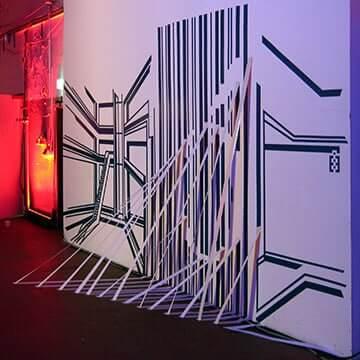 Live-Show-3D-Klebeband-Installation-Vorschaubild