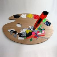 Farbpalette-Tape-Kuenstler-Farben-Installation-Ostap-2012-Vorschaubild
