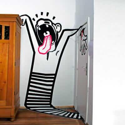 Scream-3d Klebeband Graffiti-Ostap-2012-Beitragsbild