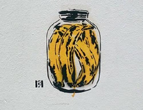 Bananen Dose