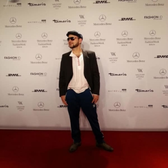 Slava Ostap on Mercedes Fashion Week Berlin 2013