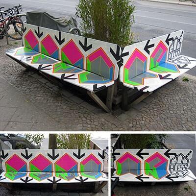 God bless you Berlin-Klebeband-street-art- ostap 2012- Beitragsbild