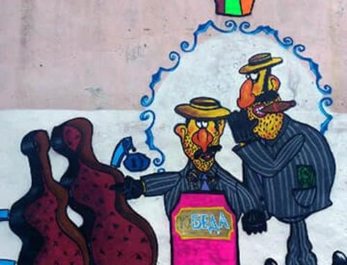 Tape and Street Art Workshop – Ukraine