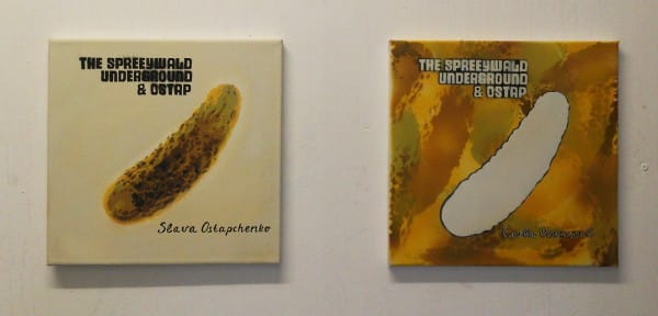 """THE SPREEWALD UNDERGROUND 4"" - spray art"