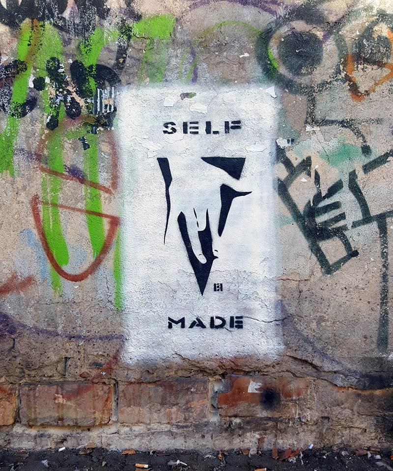 "Street art in Berlin- ""SELFMADE 2"""