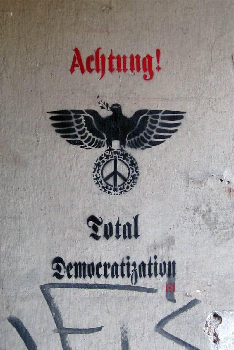 """Total Democratization"" - Street Art"