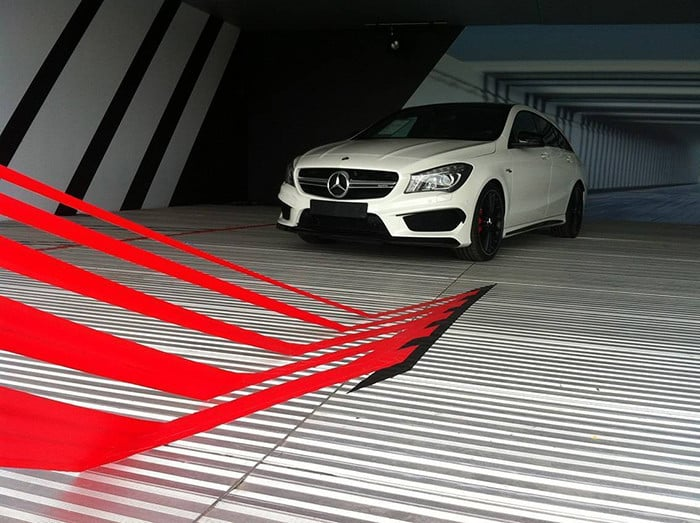 Tape art order for Mercedes AMG