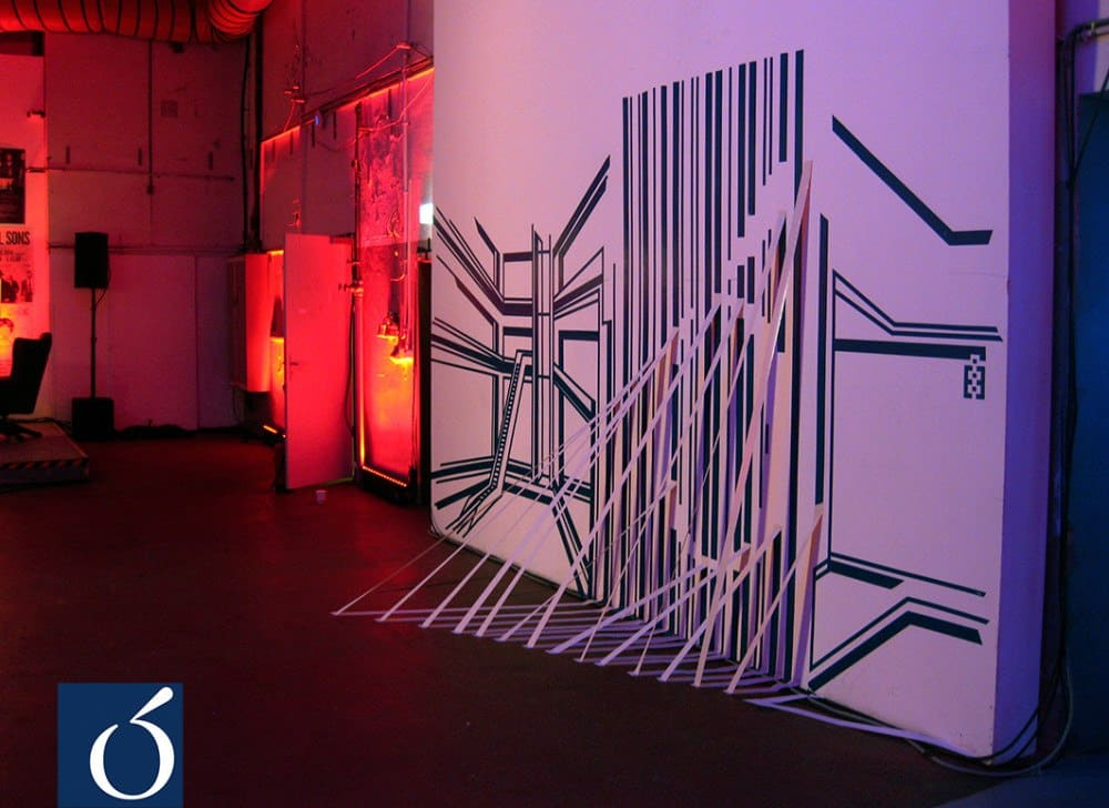 3D-tape-art-installation-live-show-event-CORIO-Ostap-2013