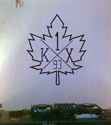 Klebeband Graffiti Logo- Auftrag für K1X- Ostap 2013