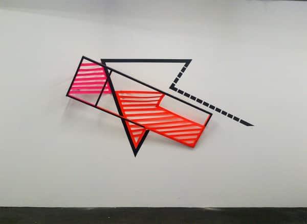 """Arrow""- 3D tape art graffiti by Ostap"