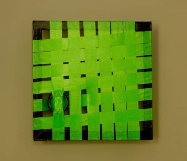 Tape-Art Grün