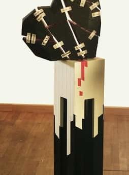 """Tape-Art """"10000 kleine Pflaster"""" 3"""