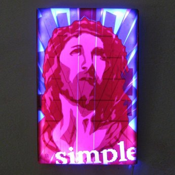 Bild-03-Jesus-Porträt-Pop-Art-Ikone-Paketklebeband-Kunst-Diptych-Ostap-2013