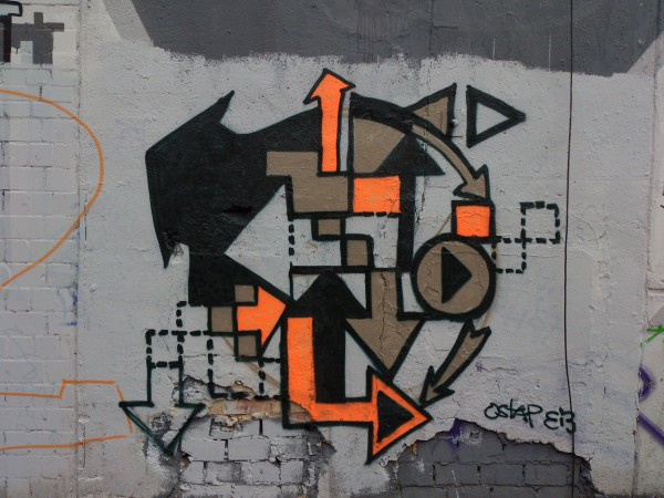 """ARROWS""- Graffiti by Ostap"
