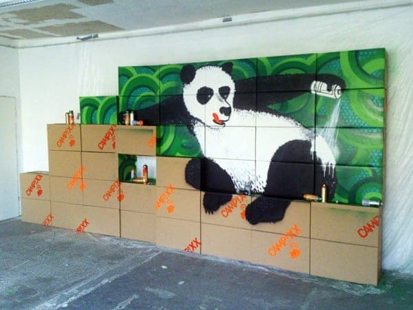 Tape-Art CAMPIXX-SEO Congress