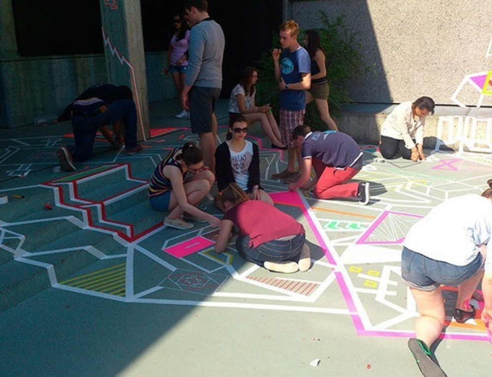 Tape Art Workshop for Kids