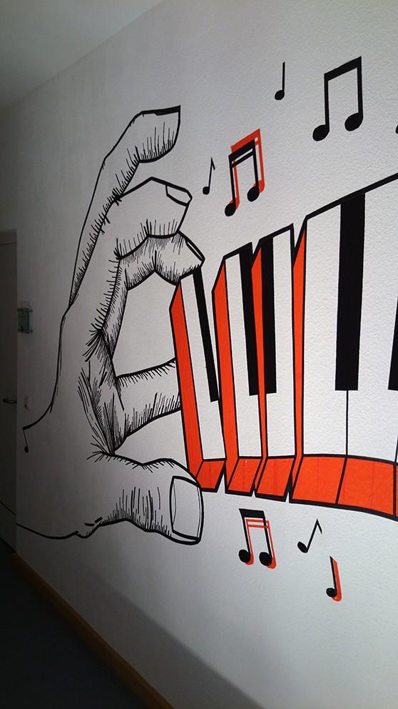 Tape-Art Workshop in Koblenz