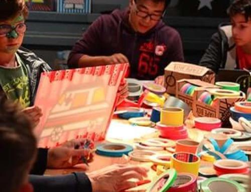 Tape- und Street-Art-Workshop