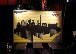Tape art tour 2016- Dortmund skyline