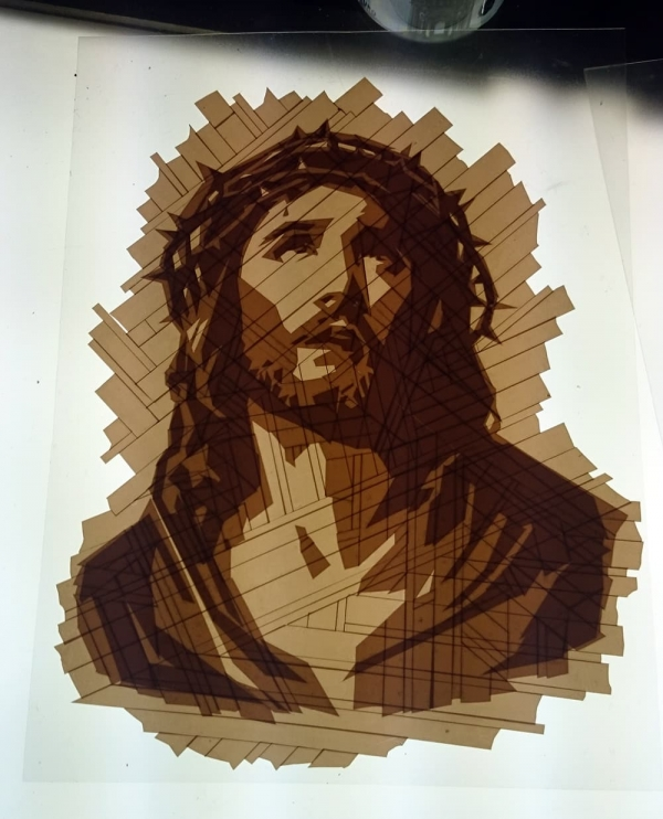 Jesus-packing-tape-art-portrait-work-in-progress-ostap-2014