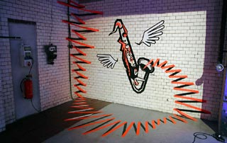 The sound-Tape Art Graffiti- Miniaturbild