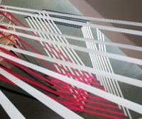 Featured image- 3D Tape art installation by Selfmadecrew- Gruner&Jahr DGPS 2016
