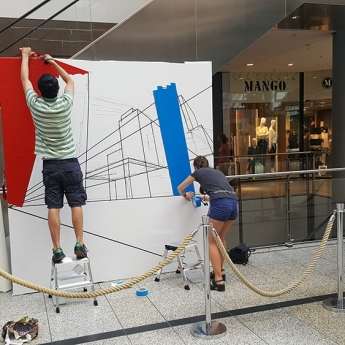 Bild 3- Berlin Skyline- live taping-street art festival-selfmadecrew 2016