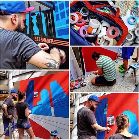 Featured image- Berlin Skyline- live taping by Selfmadecrew at Street Art Festival 2016