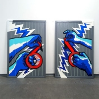 Commissioned tape art-tesa-Ostap projects gallery thumbnail