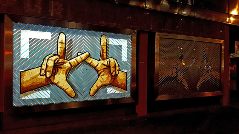 the-hands-the haus-packing-tape-street-art-ostap-selfmadecrew-2017-night-shot