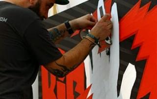 Live Kleben Event- Auftragsprojekt Grimme Group- Vorschaubild