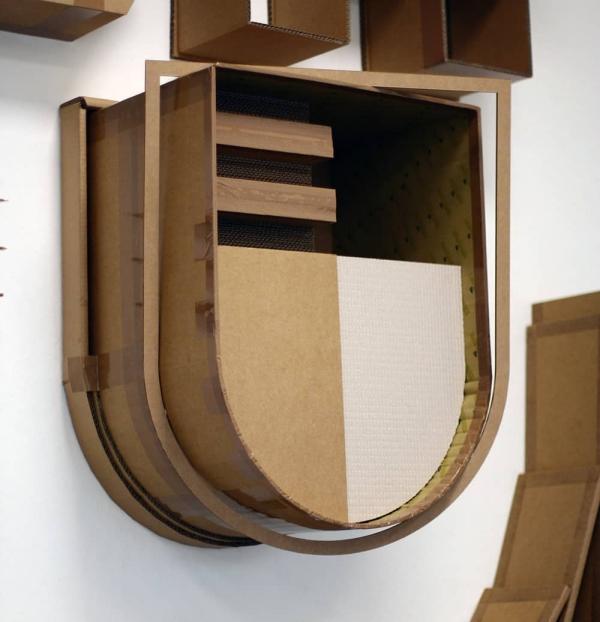 Letter-U-Zerhusen-3d-cardboard-graffiti-selfmadecrew-Damme2017
