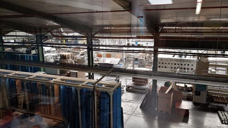 Zerhusen-new cardboard factory hall
