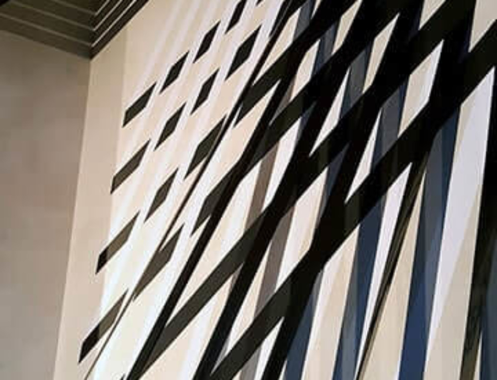 3D Abstract lines installation