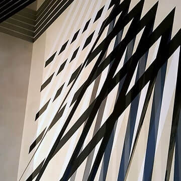 3D Tape-Art-Rauminstallation-Innendesign-Vorschaubild