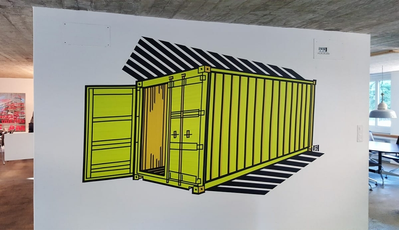 Container-duct-tape-graffiti-gmail-office-design-zurich-selfmadecrew-2016