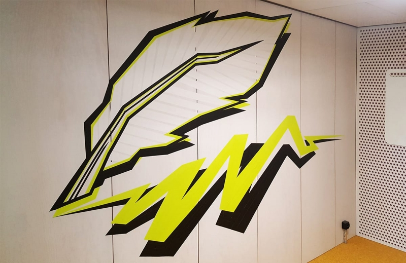 Quill-tape-graffiti-artwork-google-office-design-zurich-selfmadecrew-2016