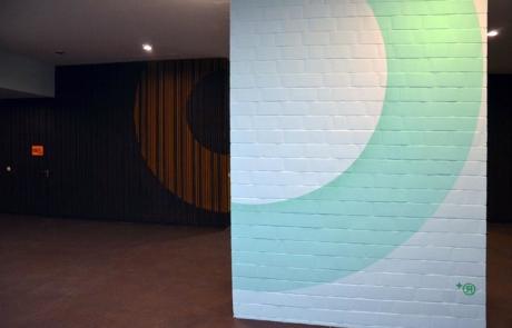 Abstraktes Kunst- Seniorentreff Huzur- Felix Rodewaldt- Selfmadecrew