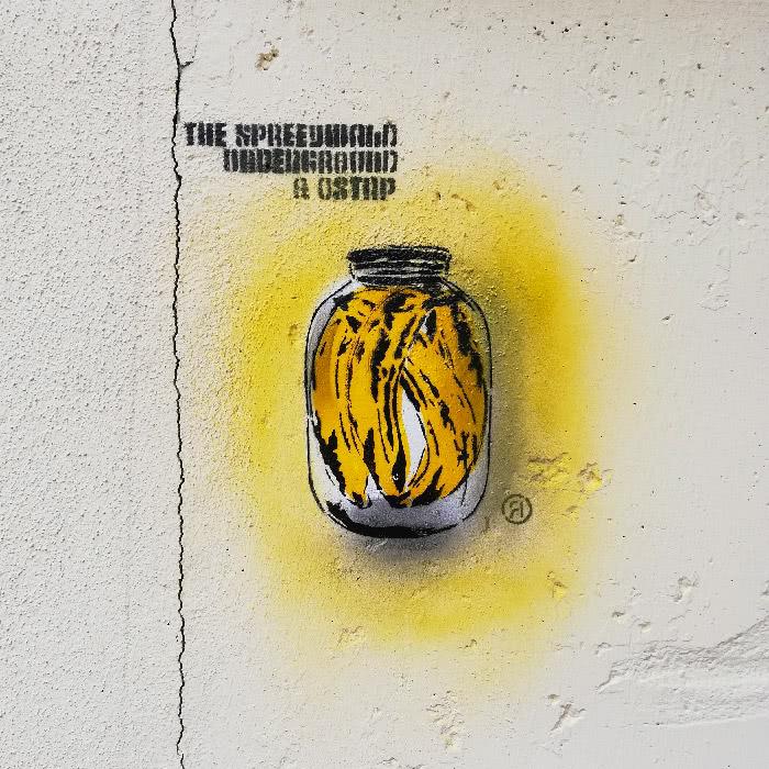 Street-Art Galerie- Schablonen Graffiti von Ostap