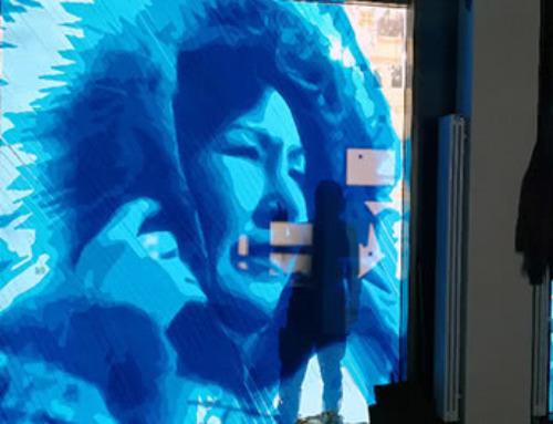 Straßenkunst mit Packband | Angiyok Projekt