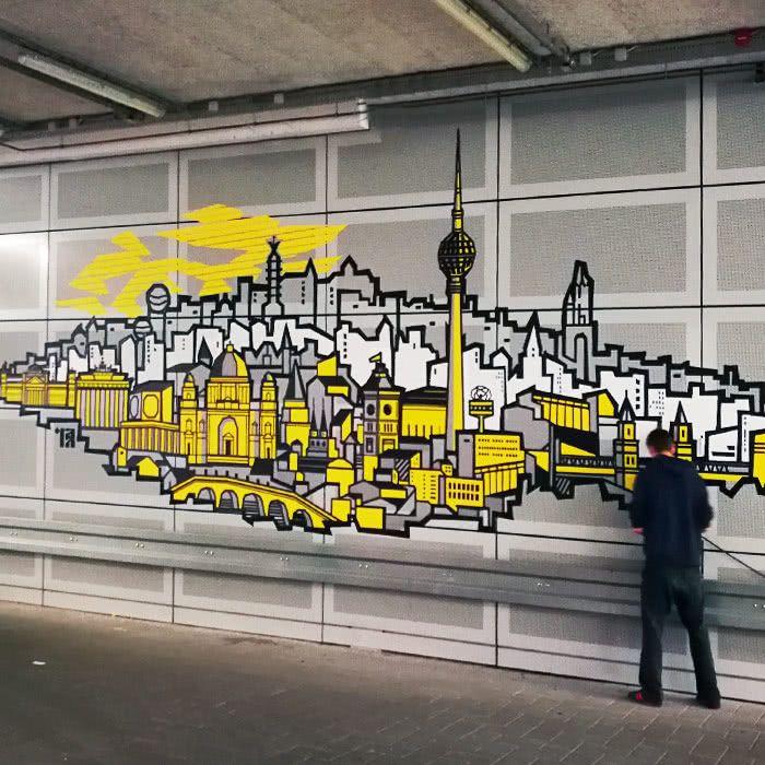 Selfmadecrew- Klebeband Kunst Projekte- Titelbild