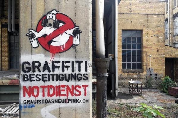 graffiti busters- monumenta-leipzig-Stencil street art by Ostap